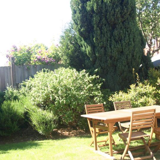 Duston Road back garden