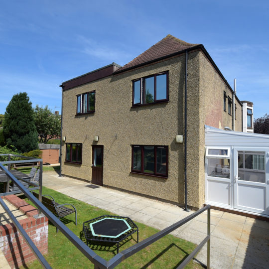 The back of 23 Duston Road