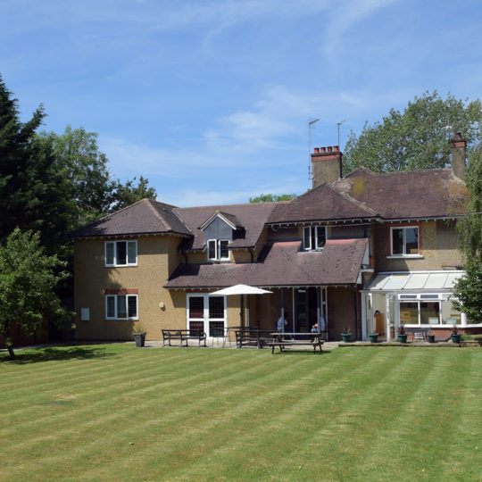 144 Boughton Road, view from the lawn
